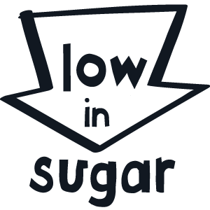 Low in sugar