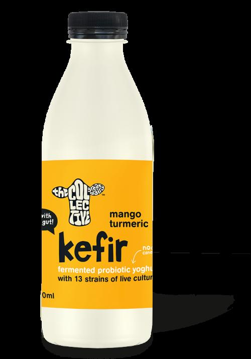mango turmeric kefir